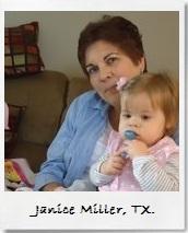 Janice Miller Testimonial